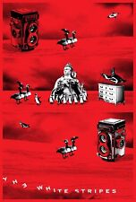 The White Stripes Icky Thump X Vault 33 Uncut Insert Poster /50 Third Man