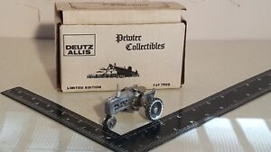 Allis Chalmers D15 in Pewter 1/43 farm tractor replica collectible by SpecCast