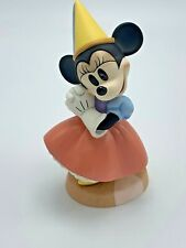 Wdcc Disney Princess Minnie Mouse Brave Little Tailor! Coa 1996 Members Only