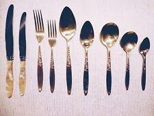 Vintage Grosvenor Christine Silver Plated Cutlery Sets - 93pcs