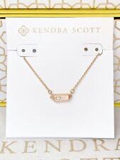 New Kendra Scott Charly Rose Gold Pendant Necklace