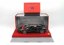 Ferrari LaFerrari Gloss Black/Red Stripe 1/18 lim.ed.50pcs P1867BLKRED BBRMODELS