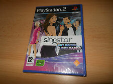 SINGSTAR boybands VS girlbands (PS2) PS2 NUEVO PRECINTADO PAL Reino Unido