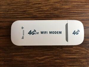 Unlocked 4G LTE WIFI Wireless USB Mobile Stick Dongle Hotspot Modem SIM Card UK