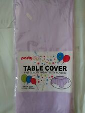 Disposable Party Table Cover - Lavender - 54in x 108in