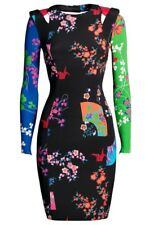 H&M x Versace Stampa Floral Silk Mini Dress - Size 4 US/ Size 8 UK/ EU34