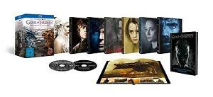 Game of Thrones Die kompletten Staffeln 1-7 Digipack + Bonus Discs + Fotobuch