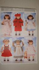 Butterick Sewing Pattern # B5589 18-Inch Doll Clothes American Girl
