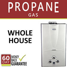 Tankless Hot Water Heater 3.1 GPM Marey Propane Gas Digital 3 Bath Whole House