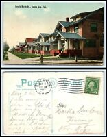 CALIFORNIA Postcard - Santa Ana, South Birch Street L28