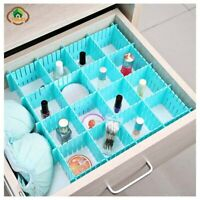 Storage Drawer Organizer Plastic Home Closet Underwear Adjustable Drawer Board