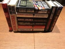 Lot of 10 1st/1st Editions Robert Ludlum HBDJ Eric Van Lustbader Bourne & More