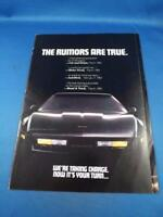 CHEVROLET CORVETTE 1983 INTRODUCTION SALES DEALER BROCHURE FLYER FOLD OUT