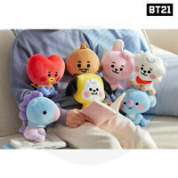 BTS BT21 Official Authentic Goods Sitting Doll 20cm Baby Ver + Tracking #