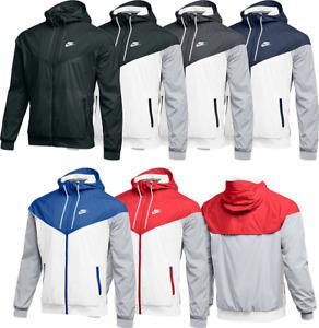 Nike Windrunner Windbreaker Jacket Men's SZ S Navy White Royal Blue Black 898730