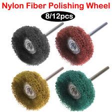8/12x Grinding Sanding Polishing Rotary Tool Wheel Accessory Kit Set For Dremel