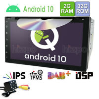 DSP Android 10 7 Inch Car Stereo Radio DVD Player In Dash Car GPS Navi Wifi 32G