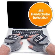 Gadget: Beheizbare USB Handschuhe beheizt Fingerline Handwärmer Gloves