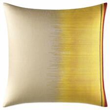 Ed Ellen DeGeneres Toluca European Pillow Sham 26'' x 26'' Light Brown Yellow