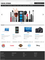 ECOMMERCE STORE - Responsive Shopping Cart Website - Free Installation