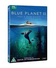 Blue Planet II 2 Latest BBC Series D Attenborough DVD New & Sealed Region 2 UK