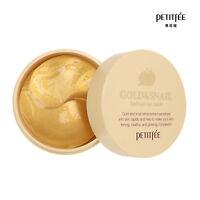 NEW PETITFEE Gold & Snail Hydrogel Eye Patch (60 pcs)