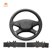 PU Leather Car Steering Wheel Cover for Mercedes-Benz E-Class W212 E 200 260 300