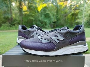 New Balance 998 Leather Upper Shoes for