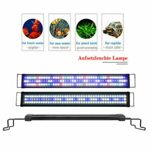 "24''36''48""Aquarium LED Full Spectrum Lamp 5730 Multi-Color Freshwater Fish Tank"
