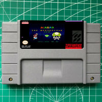 MARIO MESTERIOUS GEMS SNES Video Game USA Version