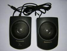 Panasonic Stereo Mini Speakers Batt Pwr for Portable CD-ROM Drive KXL-D720 D740