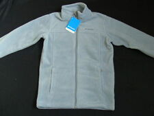 NWT Boys COLUMBIA Fleece Size 10 12 Jacket Gray Coat Steens Mountain Fall Winter