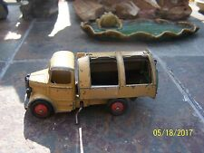 Original Vintage Dinky Toys die cast metal dump truck RARE 1940s