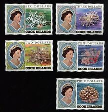 Cook Islands-#564-886-Coral-strips and blocks of 4-mostly mint never hinged-1982