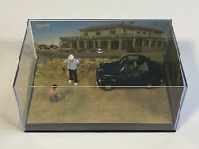 ALTAYA LA ROUTE BLEUE Fiat 500 Topolino Partie de Pétanque 1/43 Miniature