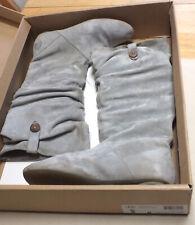 UGG Highkoo Australia Grey Style 5765 Women's Boots Sz. 8 Used