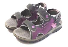 Girls Columbia Purple and Grey Sandals Techsun Sport Youth Size 1 Summer Shoe