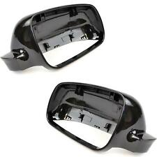 Fits VW Golf 4 Bora Passat 1996-04 GLOSS BLACK mirror cover cap Pair Left Right