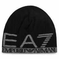 EA7 Emporio Armani Cappello Uomo 275560 8A301 Berretto Nero Blu Verde Logo