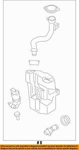 Lincoln FORD OEM MKC Wiper Washer-Windshield Fluid-Reservoir Tank EJ7Z17618A