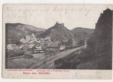 Gruss Aus Altenahr Germany 1903 Postcard 495a