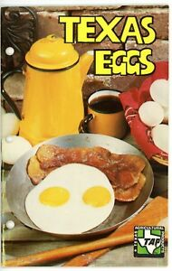Texas Egg Recipes by Reagan V. Brown, TAP (Texas Agricultural Products)