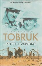 TOBRUK Peter Fitzsimons 580 Pages **GOOD COPY**SIGNED COPY**