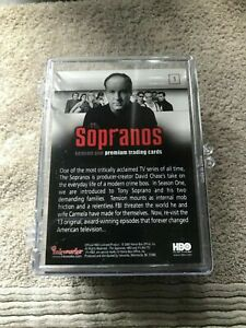 2005 Inkworks The Sopranos Season 1 72-Card Base Set