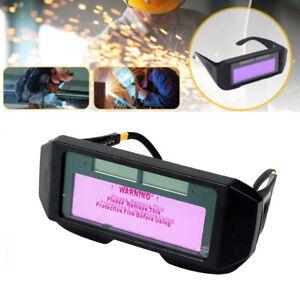 Automatischer Lichtwechsel Verdunkelung Schweißhelm Blendschutz Schweißerbrille