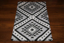 New Black Grey White Fleece Dog Cat Pet Carrier Blanket Crate Pad Free S/H! Bcr