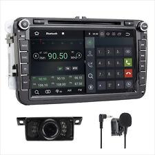 "8"" Android 8.1 DAB+ DVD GPS Sat Nav CD Player Radio For VW Golf V SEAT PASSAT"