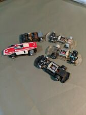 Used Lot HO Scale Slotless Car Chassis For Parts Or Repair All Missing Parts