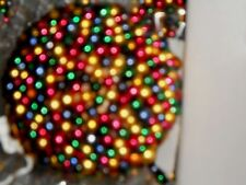 12 NIB Nostalgic Large Beaded Glitter Bulb Ball Christmas Ornament 120MM