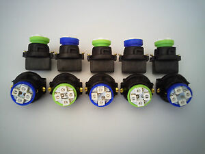 Fit Chevy 10 B&G 4 LEDs Dashboard Instrument Panel Indicator Light Bulb Socket